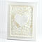Rustic Mosaic Heart in a Beach Themed Frame